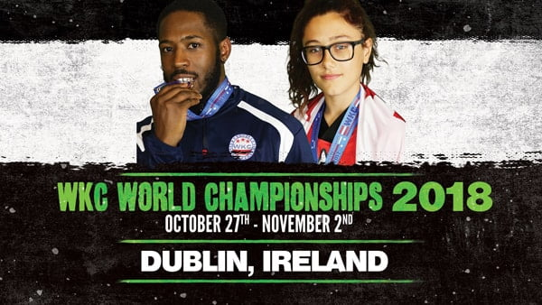 WKC World Championships 2018, Dublin Ireland