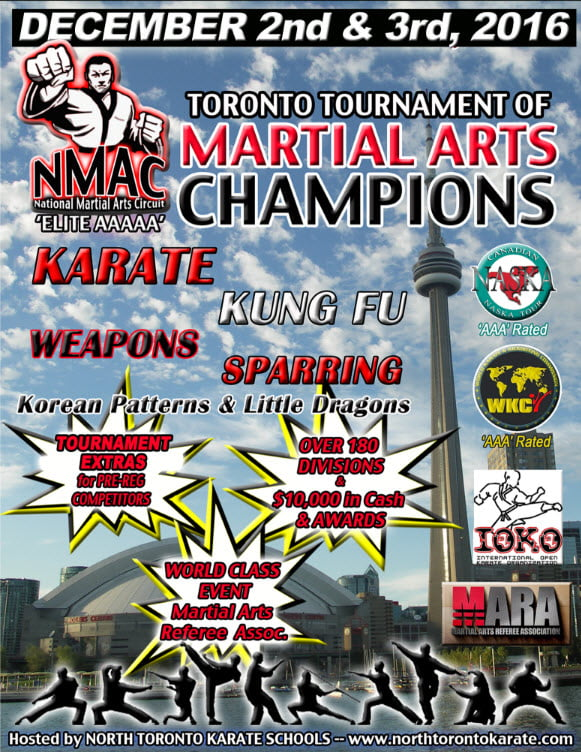 Toronto Tournament of Martial Arts Champions